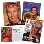 HOPE magazines