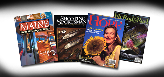 Magazine Design Samples
