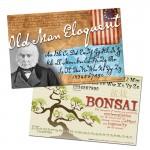 OldFonts.com Font Display Posters