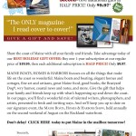 Maine Boats, Homes & Harbors Subscription email blast