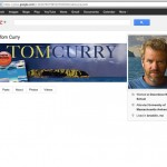 Tom Curry Main Artist Google+ home page