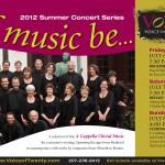 VOXX summer concert series email blast