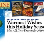 Maine Boats, Homes & Harbors Holiday email blast header